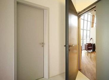 Как звукоизолируют межкомнатные двери?